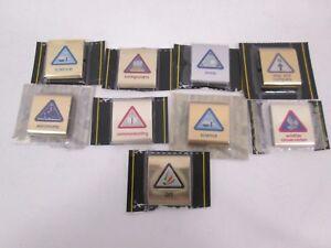 Cub Scout Boy Scout Belt Merit Badges Lot of 9 Mostly Sealed