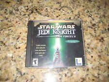 Star Wars: Jedi Knight -- Dark Forces II Jewel Case (PC, 2001)
