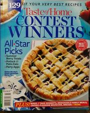 Taste of Home CONTEST WINNERS 129 Recipes 2014 Summer Party Pies FREE SHIPPING