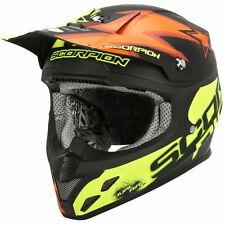 Scorpion VX-20 AIR Moto/Enduro Helmet,Carbon Fibre composite,Sz XL,multi-colour