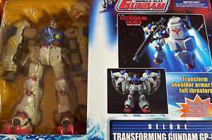Loose Transforming Gundam GP-02 A (deluxe) With Box Weapons & Instructions