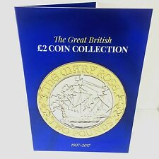 NEW 2017 Great British £2 Coin Hunt Collectors Coin Album xmas Gift Present