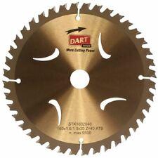 DART Gold TCT Wood Blades Thin Kerf 160mm x 20mm Bore x 60 Teeth ATB STK1602060