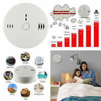 Shackcom Combination Smoke and Carbon Monoxide Detector Alarm Battery Operated