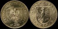 Pologne. 2 Zloty. 2004 (Pièce KM#Y.493 Neuf) Voïvodie de Slaskie
