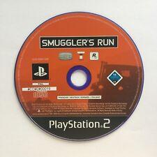 Ps2 Smuggler'S RUN 1 solo CD Playstation 2 #cd#2#00019