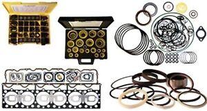 1366084 Cylinder Block and Oil Pan Gasket Kit Fits Cat Caterpillar 3408E D9R