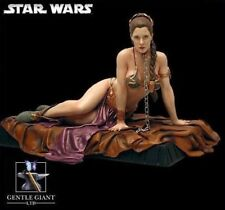 PRINCESS LEIA ORGANA as JABBA'S SLAVE Deluxe Statue by Gentle Giant NIB