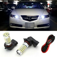 9005 LED Bulbs w/ Special Decoder For Acura TL High Beam Daytime Running Lights