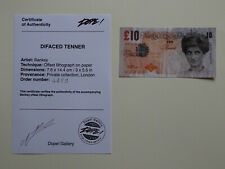 Banksy Di-faced Tenner with provenance 100% authentic COA