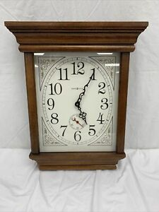 "Howard Miller Wall Clock Model: 620-148 17"" Tall Cherry Finish Untested"