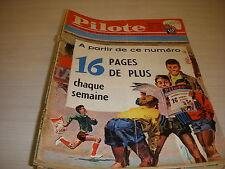 PILOTE 133 10.05.62 FOOT COUPE de FRANCE CHASSE au CANADA AUTO L'OISEAU BLEU