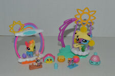 Littlest Pet Shop~#2584~Rainbow Bear~Mini~#26 Prisman Highhoof~Pony~Accessories