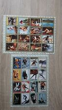 Feuilles Sheets AJMAN Olympic Games MUNCHEN 72 Cachet illisible MNH** Emirates