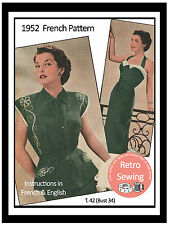 1950s Halter Dress & Bolero Vintage Sewing Pattern - Rockabilly