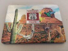 Historic Route 66 Arizona 3 x 2 Magnet Metal Finish