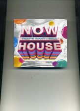 NOW THAT'S WHAT I CALL HOUSE - SAM SMITH DAVID ZOWIE DAVID GUETTA - 3 CDS - NEW!