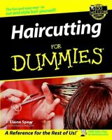 Haircutting for Dummies, Paperback by Spear, J. Elaine, Brand New, Free P&P i...
