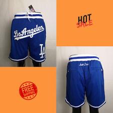 Men's Los Angeles Dodgers Blue Stitched Shorts 2020