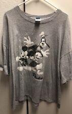 Walt Disney World Mickey Mouse Goofy & Donald Short Sleeve T Shirt Size 3XL