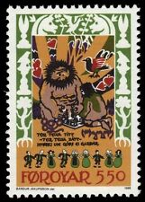"FAROE ISLANDS 141 (Mi132) - Folk Ballad ""Skrimsla"" (pf60121)"