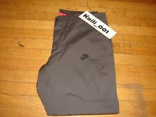 Nike Bonded Pant Size 40 2XL 823363-038 NSW Sportswear Grey Slim Fit B