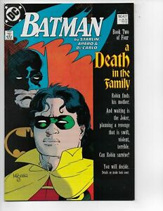 BATMAN #427 A Death In The Family 1ST PRINT  key comic