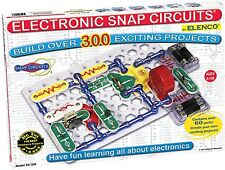 Snap Circuits SC300 Electronics Discovery Project Kit Build Doorbell Radio Alarm