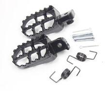 Black Footrest Foot Pegs For Honda CRF50 CRF70 CRF80 CRF100F XR50R Pit Dirt Bike