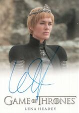 Game of Thrones Inflexions, Lena Headey as Cersei Lannister Autograph Card