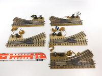 CB162-1# 5x Märklin H0/00/AC Bastler-E-Weiche (M-Gleis) für 3600/800