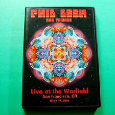 Phil Lesh and Friends DVD Live at the Warfield San Francisco 2006 Grateful Dead