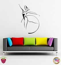 Wall Stickers Vinyl Decal Gymnastic Olympic Games Dance Dancing  (z1700)