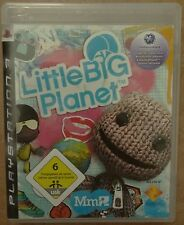 Little Big Planet PlayStation 3 ps3 video-juego Bluray disc Sony Games