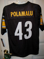 Reebok Steelers Polamalu Football Jersey Boys Youth Size XL 18 / 20 NWT