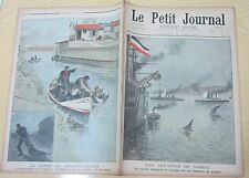 Le petit journal 1899 439 Affaires de Samoa + crime choisy-le-roi