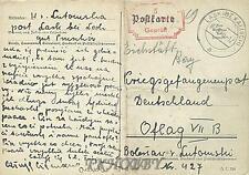 Camp Oflag VIIB Eichstätt 1940 POW Prisoner of War Kriegsgefangenenpost (K5)