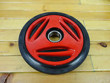 "SKI DOO RED IDLER BOGIE WHEEL 135mm 5 3/8"" O.D. MADE BY OEM MANUFACTURER PPD"