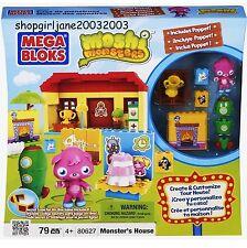 Mega Bloks Blocks - Moshi Monster - Monster's House Set #80627 - 79 Pieces