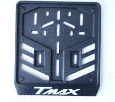 Portatarga Porta Targa Logo TMAX T-Max BIANCO serigrafato indelebile 21x19 cm