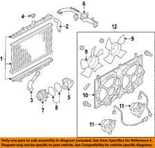 NISSAN OEM 07-09 350Z-Radiator Cooling Fan Blade Shroud 21483EV00A
