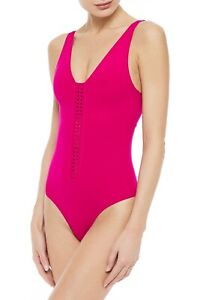 ERES Magenta Pink Close Up Cassette Braided One Piece Tank New With Tags 40 $480
