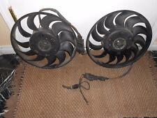 03 04 05 06 07 08 09 10 AUDI A8 RADIATOR FAN MOTOR WITH BLADE AND MODULE PAIR SE