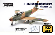 Wolfpack WP32081, F-86F Sabre Update set (for Kinetic 1/32) , SCALE 1/32