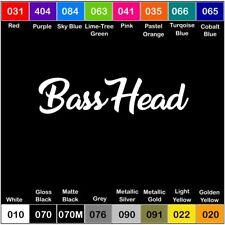 BASSHEAD Vinyl Decal Sticker Window Car Truck Drift JDM Bass Speakers
