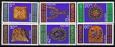 Bulgaria 1986 Sc3175-80  Mi3480-85  6v  mnh  Gold artifacts