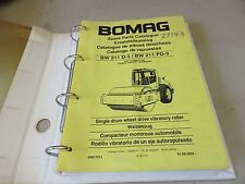 Bomag BW 211 D-3 BW 211 PD-3 - Drum Wheel Drive Vibratory Roller Parts Manual