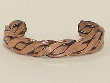 Forged Copper Cuff Bracelet