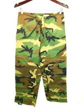 US Army XS Short Trousers Extended Cold Weather GoreTex Pants Woodland Camo