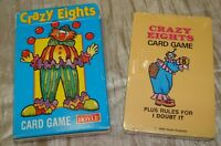 Vintage CRAZY EIGHTS 1985 HOYLE Playing Cards UNUSED in Original Box
